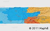 Political Panoramic Map of Svodín
