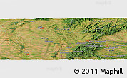 Satellite Panoramic Map of Svodín