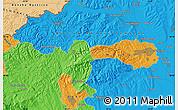 Political Map of Eger