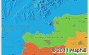 Political Map of Nyíregyháza