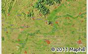Satellite Map of Nyíregyháza