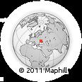 Outline Map of Mal'vova Street, 18, rectangular outline
