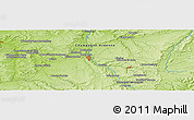 """Physical Panoramic Map of the area around 48°5'50""""N,5°10'30""""E"""