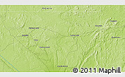 """Physical 3D Map of the area around 48°5'50""""N,79°49'29""""W"""