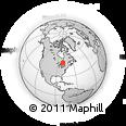 Outline Map of 16 Earl St, rectangular outline