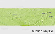 """Physical Panoramic Map of the area around 48°5'50""""N,79°49'29""""W"""