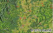 "Satellite Map of the area around 48°5'50""N,8°34'29""E"