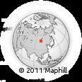 Outline Map of Naymanii Hüryee, rectangular outline