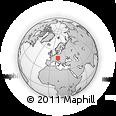 Outline Map of Hinterschiffl, rectangular outline