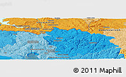 Political Panoramic Map of Linz