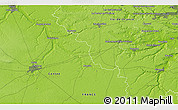 """Physical 3D Map of the area around 48°30'27""""N,1°46'29""""E"""