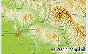 Physical Map of Mukacheve