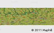 "Satellite Panoramic Map of the area around 48°30'27""N,27°16'29""E"