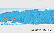 Political Panoramic Map of Brest