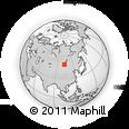 Outline Map of Bugat, rectangular outline