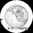 Outline Map of 412 Stewart Rd, rectangular outline
