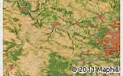 "Satellite Map of the area around 48°54'57""N,1°46'29""E"