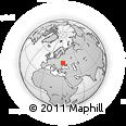 Outline Map of Uman', rectangular outline