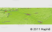 "Physical Panoramic Map of the area around 48° 54' 57"" N, 4° 19' 30"" E"