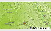 Physical 3D Map of Bar-le-Duc