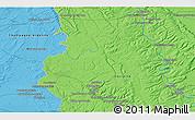Political 3D Map of Bar-le-Duc