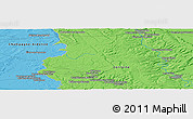 """Political Panoramic Map of the area around 48°54'57""""N,5°10'30""""E"""