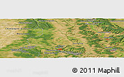 Satellite Panoramic Map of Bar-le-Duc