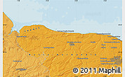 Political Map of Caen