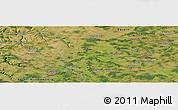 "Satellite Panoramic Map of the area around 49°19'21""N,10°16'30""E"