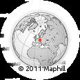Outline Map of Ziegelhütte 2, rectangular outline