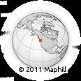 Outline Map of Best Road, rectangular outline