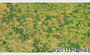 Satellite 3D Map of Milevsko