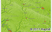 """Physical Map of the area around 49°19'21""""N,1°46'29""""E"""