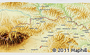 """Physical 3D Map of the area around 49°19'21""""N,20°28'30""""E"""