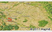 Satellite 3D Map of Reims