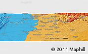 Political Panoramic Map of Ittlingen