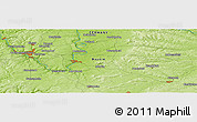 "Physical Panoramic Map of the area around 49° 43' 37"" N, 10° 16' 30"" E"