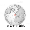 """Outline Map of the Area around 49° 43' 37"""" N, 10° 7' 30"""" W, rectangular outline"""