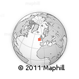 """Outline Map of the Area around 49° 43' 37"""" N, 10° 58' 29"""" W, rectangular outline"""
