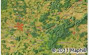"Satellite Map of the area around 49°43'37""N,13°40'30""E"