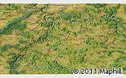 Satellite 3D Map of Benešov