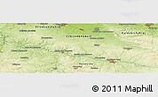 Physical Panoramic Map of Horeslavsko