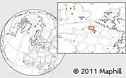 """Blank Location Map of the area around 49°43'37""""N,1°46'29""""E"""