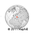 Outline Map of Ternopil', rectangular outline