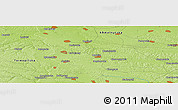 Physical Panoramic Map of Volochys'k