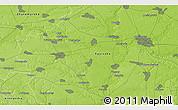 Physical 3D Map of Bila Tserkva