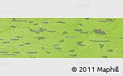 Physical Panoramic Map of Bila Tserkva