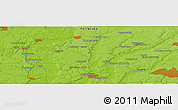 "Physical Panoramic Map of the area around 49° 43' 37"" N, 34° 4' 30"" E"