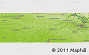 Physical Panoramic Map of Lucquy