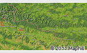 """Satellite 3D Map of the area around 49°43'37""""N,5°10'30""""E"""
